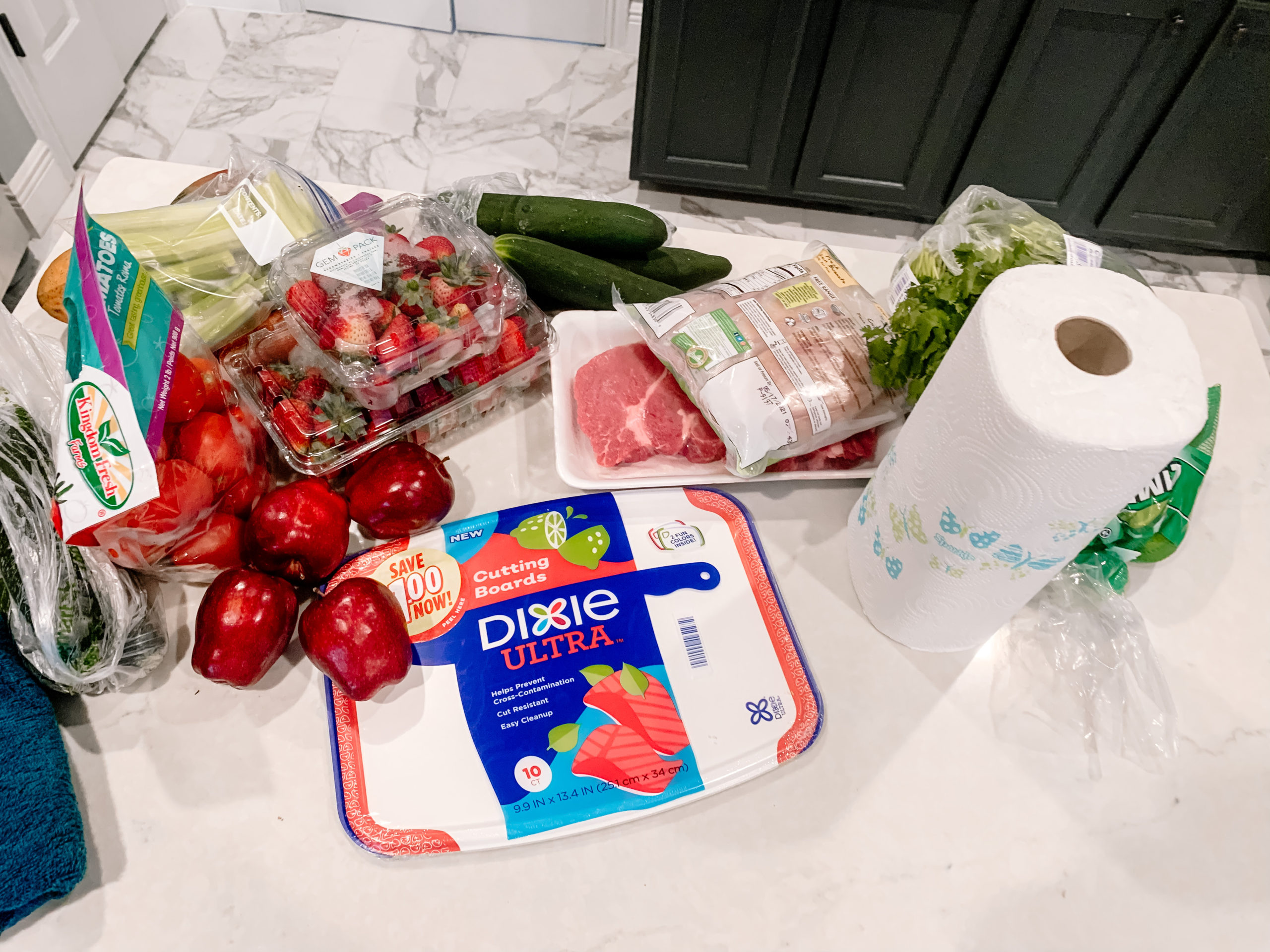 disosable cutting boards, meal planning